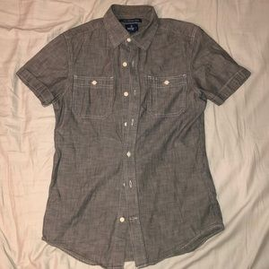 Old Navy Slim Fit Short-sleeved Button Down Shirt